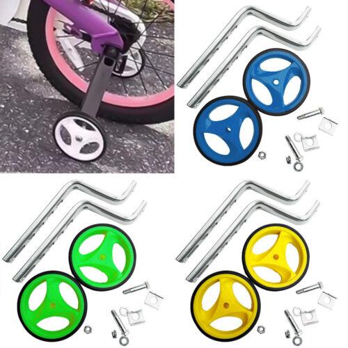 1 Pair Training Wheels Universal Bicycle Wheel For Children Bikes 12-20 inch