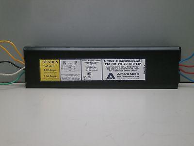2 F96T12//HO F72T12//HO Lamps Advance REL-2S110-RH-TP Fluorescent Ballast for