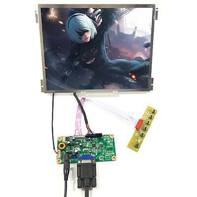 "VGA LCD Controller Board 10.4/"" G104XVN01.0 1024X768 LCD Panel Replace G104X1-L04"