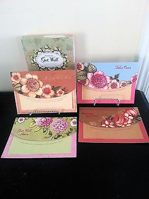 ELEGANT Christian Inspirations Premium Get well cards with Envelops 12 ct.