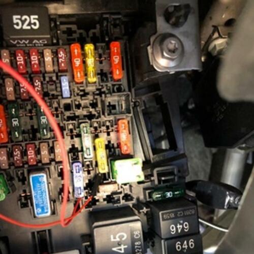 Autosicherungen Sortiment Mini KFZ-Sicherungen 100 Pcs