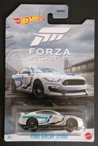 Hot Wheels 2020 Ford Shelby gt350 Forza Motorsport nuevo /& OVP