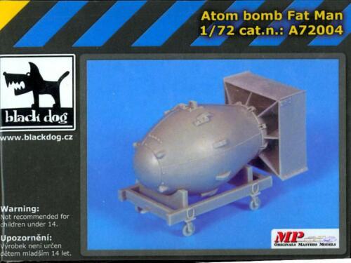 Blackdog Models 1//72 FAT MAN ATOM BOMB Resin Model