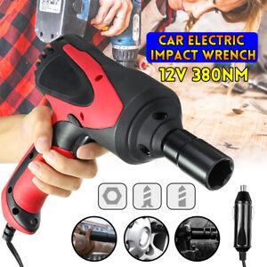 380N-M-Electric-Impact-Wrench-Gun-High-Torque-1-2-039-039-Drive-Tool-Case-amp-2-Sockets