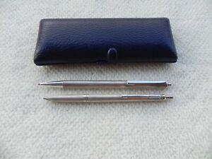 2x Penna A Sfera Biro Pelikan In Argento 925 Ballpoint Pen Pelikan Silver 925 Cool En éTé Et Chaud En Hiver