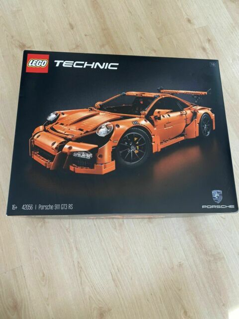LEGO Technic 42056 Porsche 911 GT3 RS with instructions and box