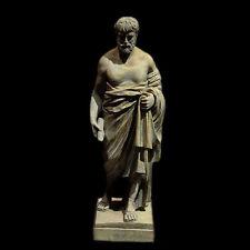 Demosthenes Athenian Greek orator Athens sculpture statue Philip Macedon enemy