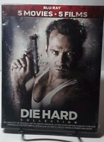 Die Hard 5 Film Collection (bluray Boxset)new - Free S&h-all 5 Die Hard Movies