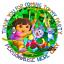 70 Dora personnalisé Kids Party Favour Autocollants Cône Sac Étiquettes Anniversaire