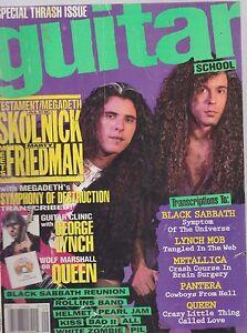SEPT-1992-GUITAR-SCHOOL-vintage-music-magazine-MEGADETH