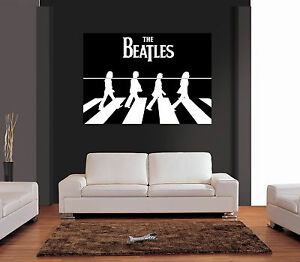 Image Is Loading THE BEATLES ABBEY ROAD BLACK Amp WHITE Giant