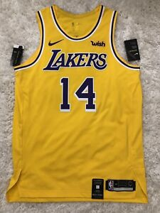 huge selection of 17107 1ec63 Details about DEADSTOCK Ingram Lakers Authentic Nike Jersey 2018 - Large 48  Kobe Kuzma Lonzo