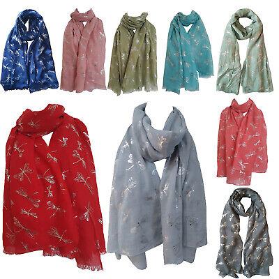GlamLondon Bumble Bee Print Scarf Ladies Lightweight Fashion Oversize Wrap