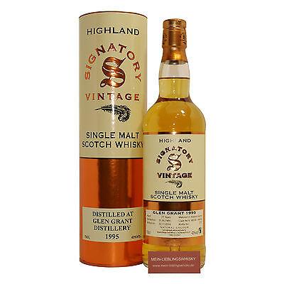Glen Grant 21 Jahre Signatory Vintage Single Malt Whisky 43,0% vol. - 0,7 Liter