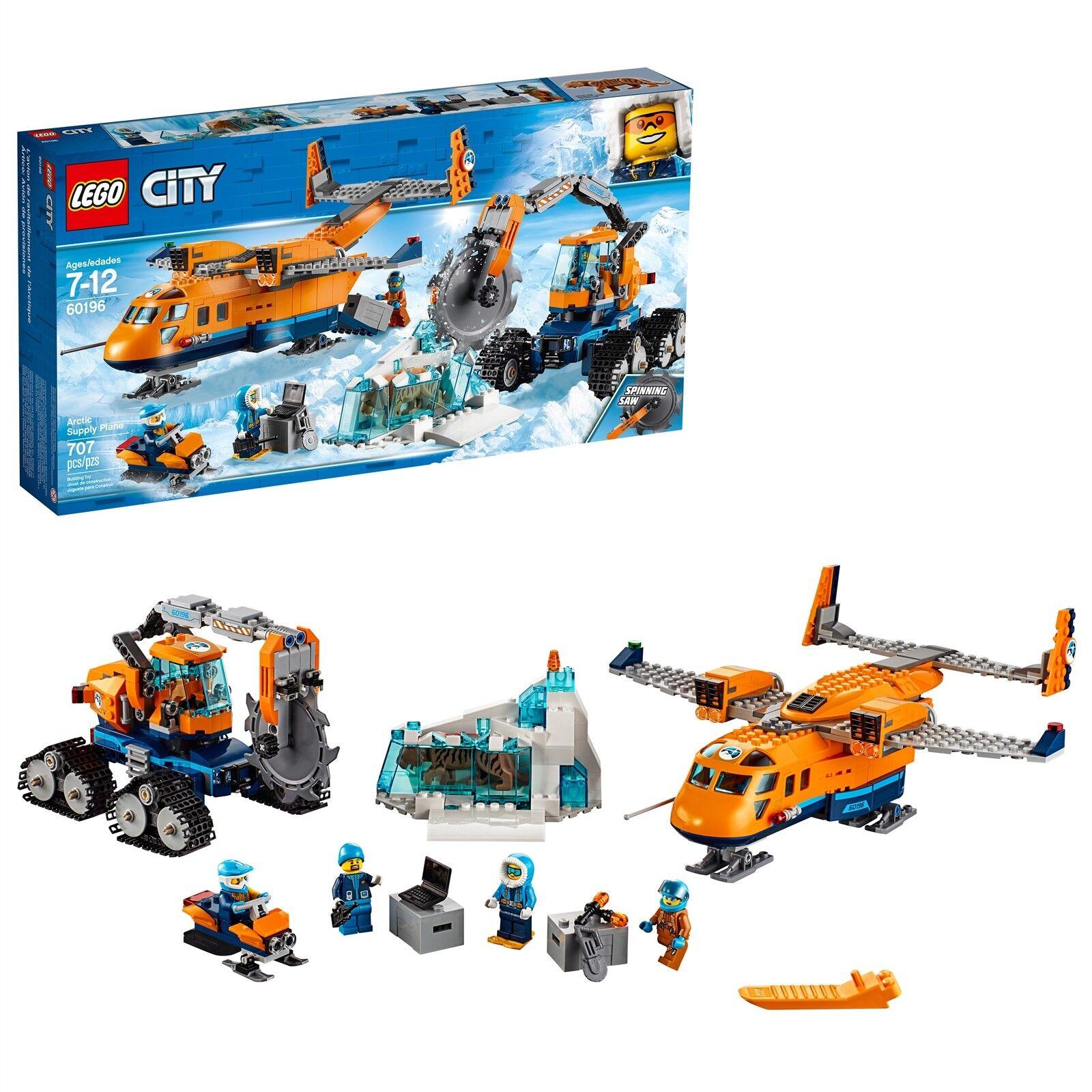 LEGO® City Arctic Expedition - Arctic Supply Supply Supply Plane 60196 707 Pcs 214724