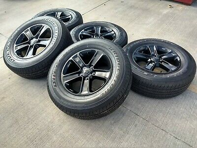 "Jeep Wrangler Rims And Tire Packages >> 18"" Jeep Wrangler 2019 2020 ALTITUDE black Rubicon OEM wheels rims Gladiator NEW 