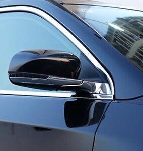 Chrome ABS Car Rear view Mirror Strip Cover Trims For BMW X1 F48 2016 2017