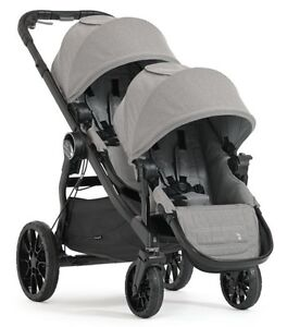 Baby Jogger 2017 City Select Lux Double Stroller In Slate