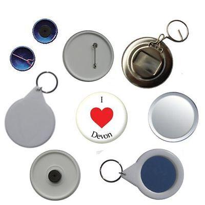 /'I Love Devon/' Pin Button Badge Magnet Keyring Bottle Opener Mirror