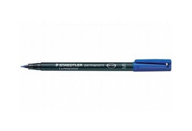 STAEDTLER Lumocolor Permanent-Marker 318F, blau