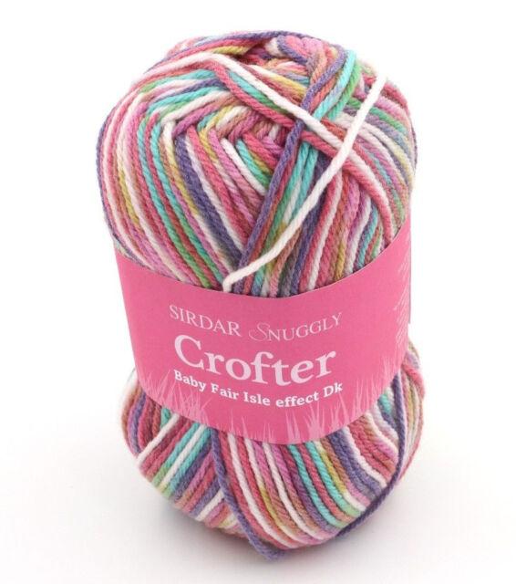 4 Skeins of Sirdar Snuggly Baby Crofter DK Knitting Yarn Color #148