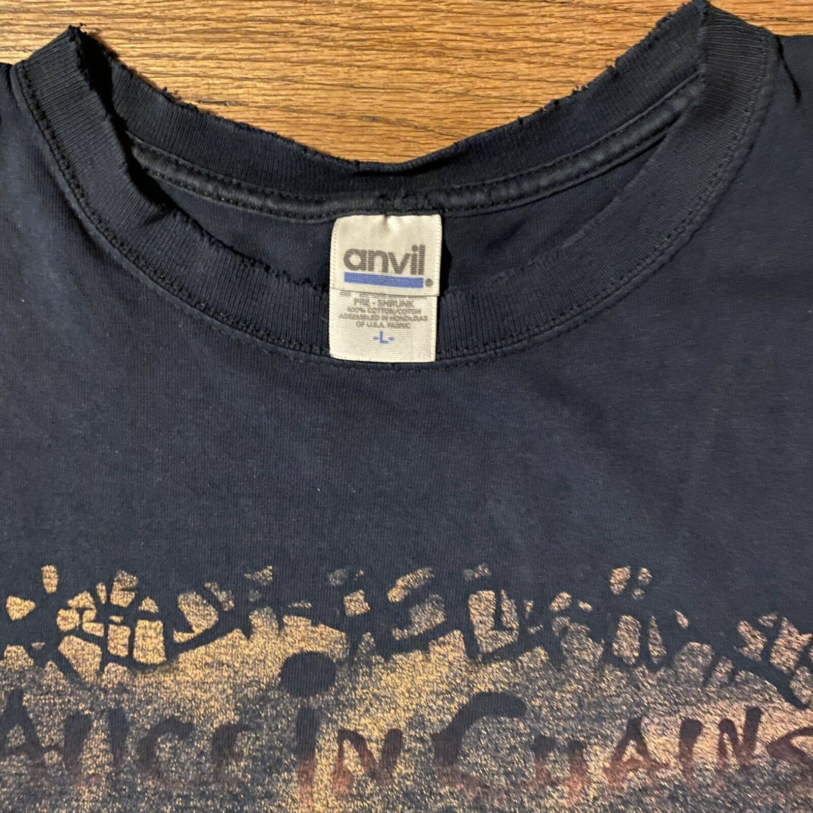 vintage alice in chains shirt - image 3