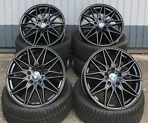 18-in-Damina-dm02-Jantes-5x120-Noir-Pour-BMW-3er-e36-e46-f30-f31-e90-e91
