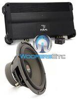 Pkg Focal Fpp-1000 Monoblock 500w Rms Amplifier + 33v2 13 Dual 4-ohm Subwoofer