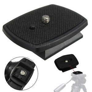 Tripod-Quick-Release-Plate-Screw-Adapter-Mount-Head-For-DSLR-SLR-Camera-ZG