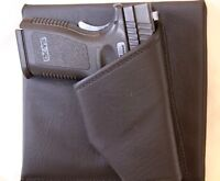 S&w Airweight 340 Pd Revolver Purse Holster Black Rh Rev Creative Conceal Carry