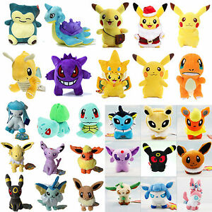 Rare-Pokemon-Go-Pikachu-Plush-Doll-Stuffed-Soft-Kids-Gift-Cute-Collection-Toys