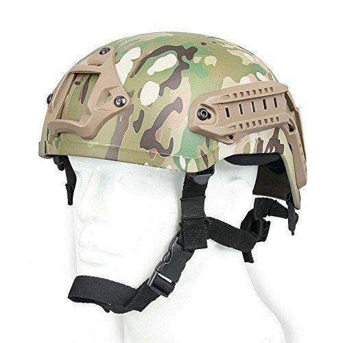 DLP Tactical  High Cut  MICH 2001   ACH Pattern Bump Helmet  300 MSRP