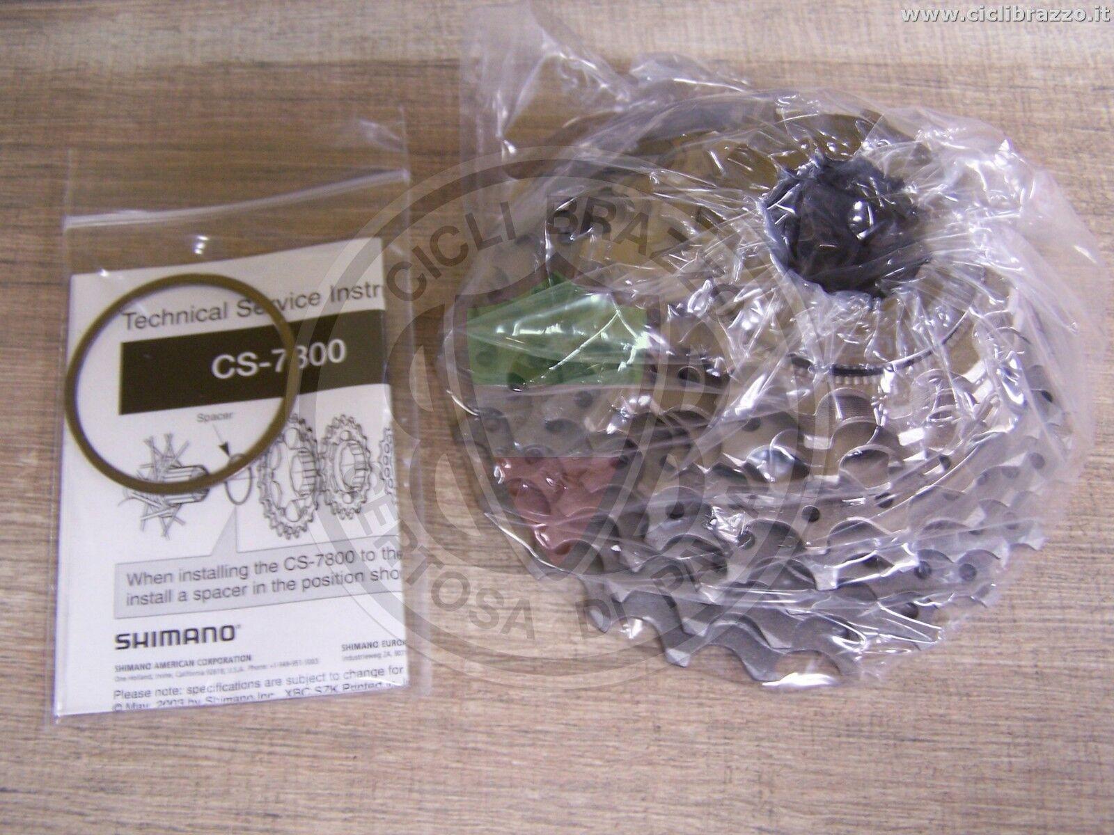 Cassette Shimano Dura-ace CS-7800 10v 12x25 12-25