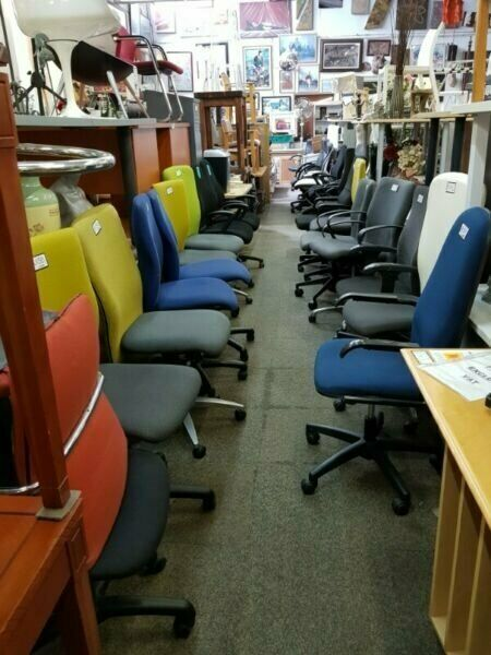 AFFORDABLE OFFICE IS OPEN! 30% SALE ON ALL USED  REFURBISHED CHAIRS  and OFFICE FURNITURE