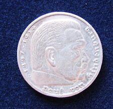 5 Mark Reichsmark 1935 E Paul von Hindenburg Deutsches Reich Silber Münze