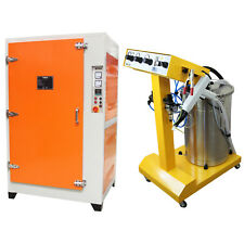 Powder Coating Machine / Curing Oven Wet Paint Drying Electrostatic Industrial