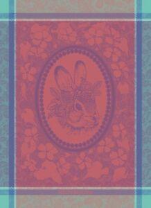 4-Garnier-Thiebaut-French-Kitchen-Woven-Towel-Easter-Madame-Lapin-Rabbit-Gift