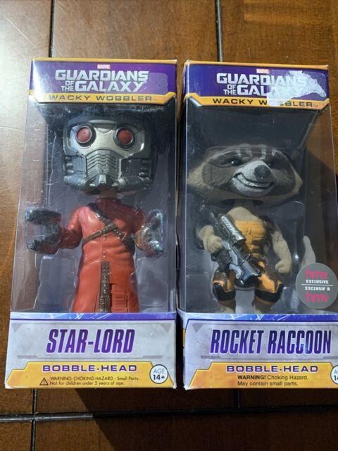 Funky Star-Lord & Rocket Raccoon Wacky Wobbler Bobble-head