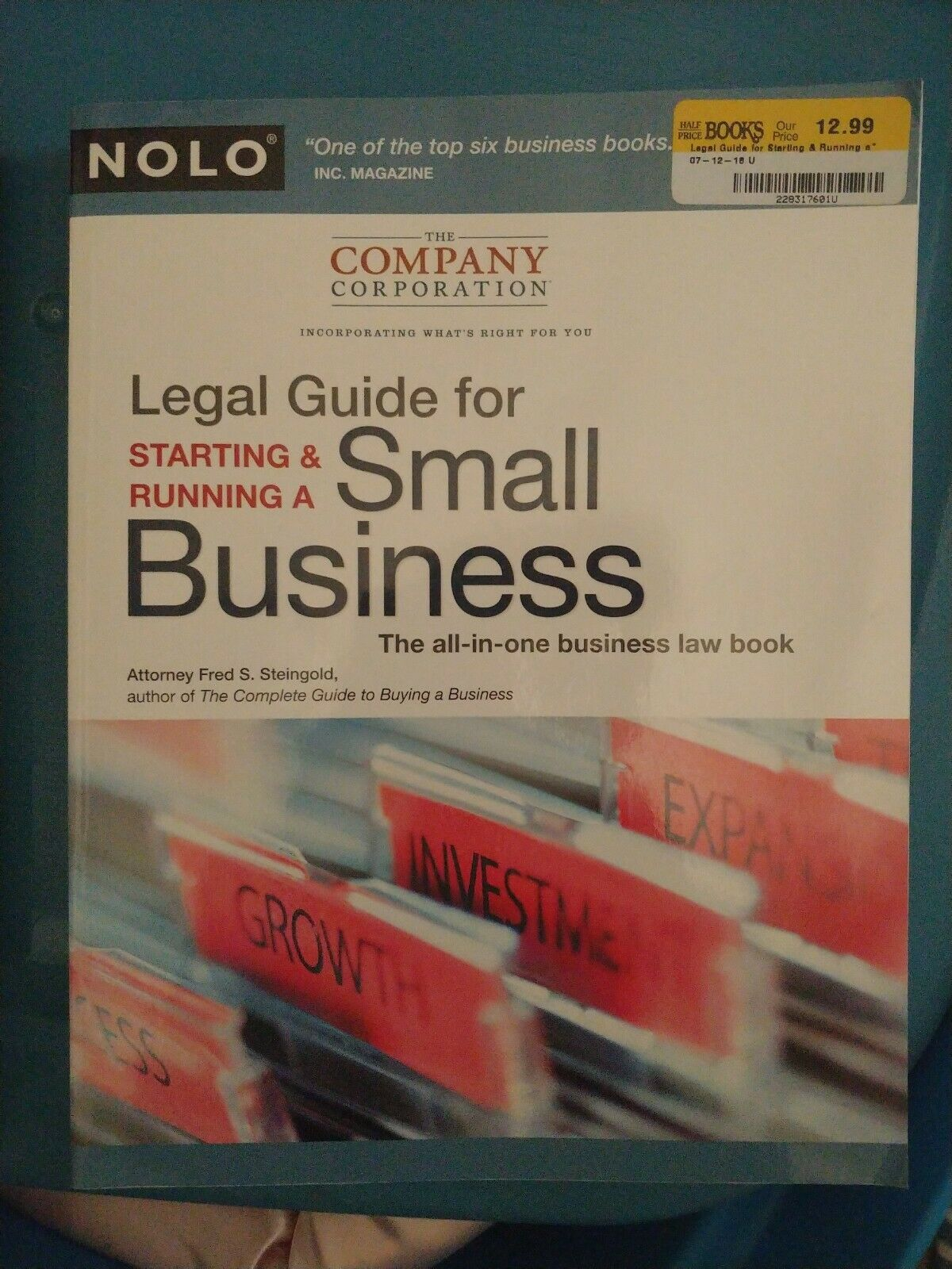 Legal Guide for Starting & Running a Small Business 1
