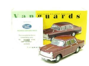 Corgi-Vanguards-VA05402-Morris-Oxford-Damasco-Rojo-1-43-ESCALA-en-Caja