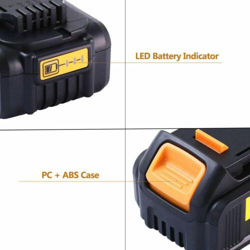 2X Für DeWalt DCB184 Akku 18V 5 Ah XR Li-Ion Batterie DCB182 DCB205-2 DCB200-2