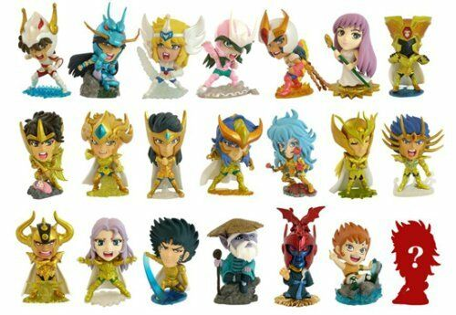 Charazo Saint Seiya Q Super MINI BIG HEAD Figure Vol 2