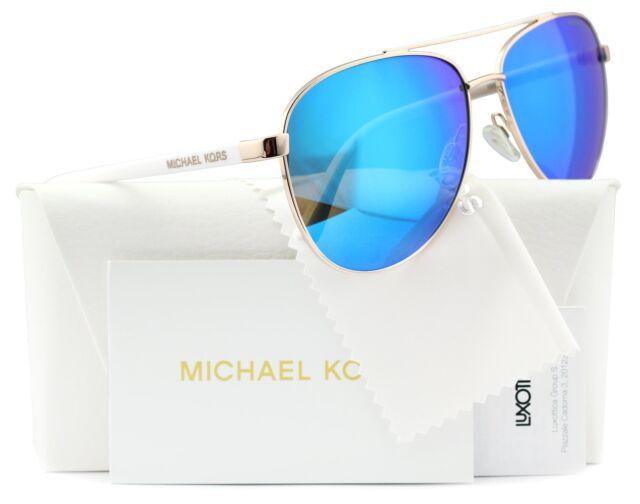 9ce48efc847c Michael Kors Sunglasses MK5007 Rose Gold / Blue Mirror 1045/25 59mm for  sale online