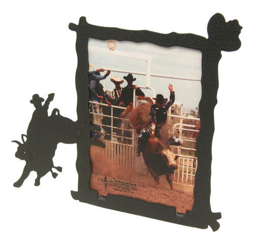 "Brahma Bull Rider Rodeo Picture Frame 3.5/""x5/"" 3/""x5/"" V"