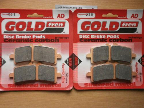 SPEED TRIPLE 1050 R 2x Sets TRIUMPH SINTERED FRONT BRAKE PADS 2012 2013