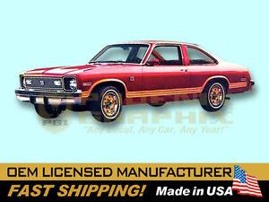 1977 1978 1979 Chevrolet Nova Rally Decals Stripes Kit