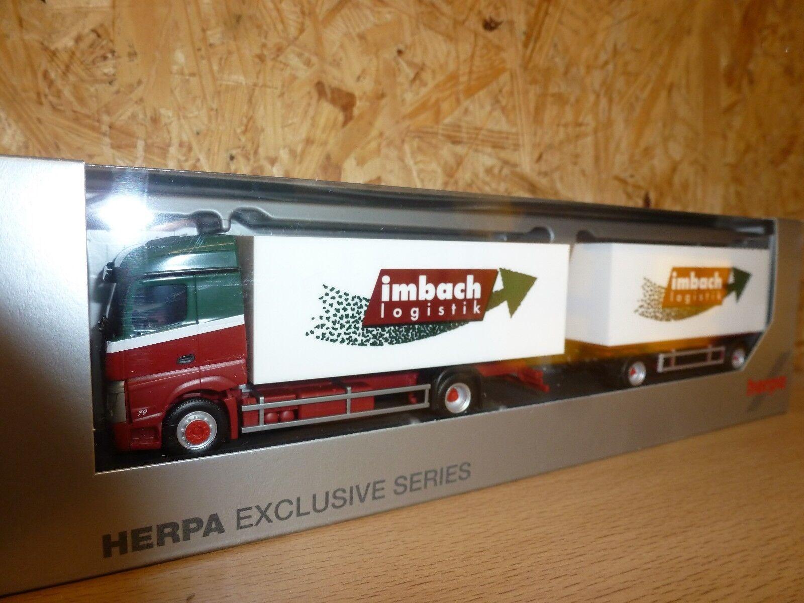 compra en línea hoy Herpa, 929691 camiones MB actros 11 11 11 streamspace K-Hz  imbach   mejor reputación