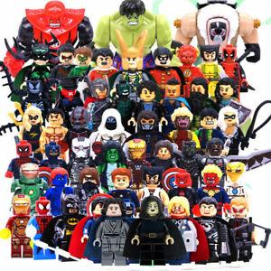 LEGO-Marvel-avengers-guerisseur-Minifigures-Thanos-Venom-Deadpool-DC-Figure-Bloc