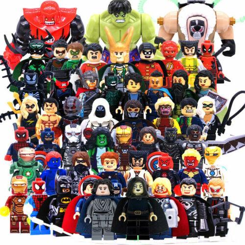 Lego Marvel Avengers Endgame Minifigures Thanos Venom Deadpool DC Figure Blocks