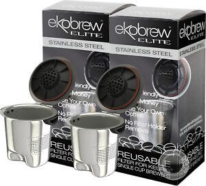 Ekobrew Elite Stainless Steel Reusable Filter For Keurig 20 10